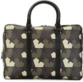 Ports 1961 star camouflage print briefcase