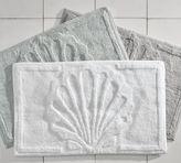 Pottery Barn Shell Sculpted Bath Rug
