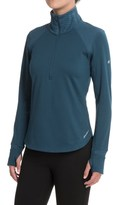 Eddie Bauer Crossover Fleece Shirt - Zip Neck, Long Sleeve (For Women)