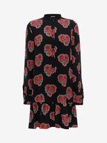 Alexander McQueen Poppy Print Shirt Dress