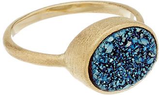 Rivka Friedman 18K Clad Quartz Ring