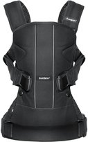 BABYBJÖRN One Baby Carrier & Bib - Black - Mesh - One Size