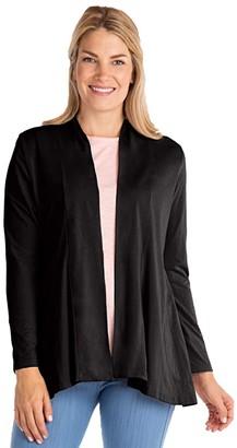 Fresh Produce Cleo Cardigan with Pockets (Black) Women's Sweater