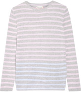 Chinti and Parker Striped Cashmere Sweater - Pastel pink
