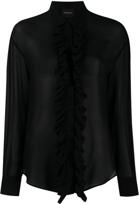 Simonetta Ravizza Ruffle Trim Shirt