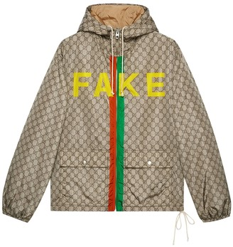Gucci Fake/not Logo Jacket