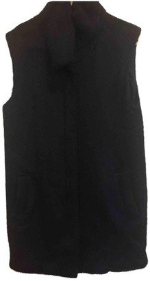 Theory Black Faux fur Coat for Women