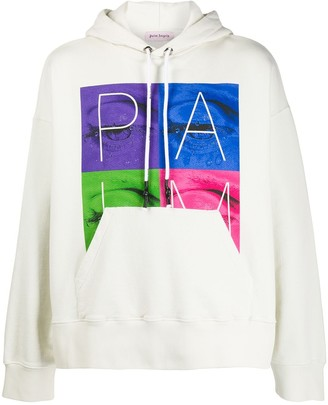 Palm Angels graphic print hoodie