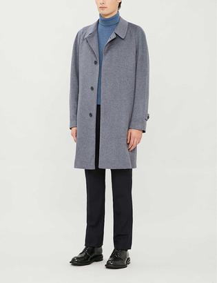 Corneliani Tie-belt cashmere coat