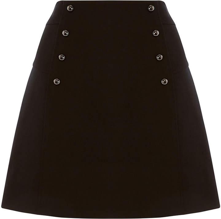 Karen Millen Tailored Mini A-Line Skirt