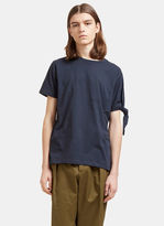 J.w. Anderson Men's Single Knot T-shirt In Navy