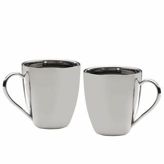 Mikasa 2-pc. Stainless Steel Mug Set