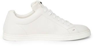 Fendi Micro Bugs Leather Sneakers