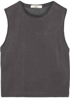 Alice + Olivia Cotton And Modal-blend Jersey Tank
