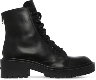 Kenzo 50mm Pike Lace-up Leather Combat Boots