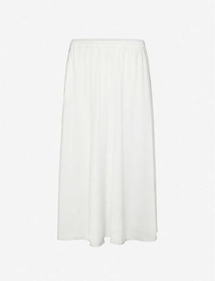 Designers Remix Kacy high-waisted woven maxi skirt