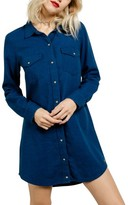Volcom Women's Cham Jam Chambray Shirtdress