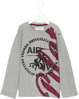 John Galliano AIR DIV long sleeve T-shirt