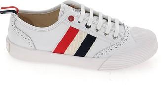 Thom Browne RWB Stripe Lace-Up Sneakers