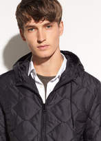 Vince Quilted Hoodie