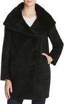 Sofia Cashmere Cocoon Coat