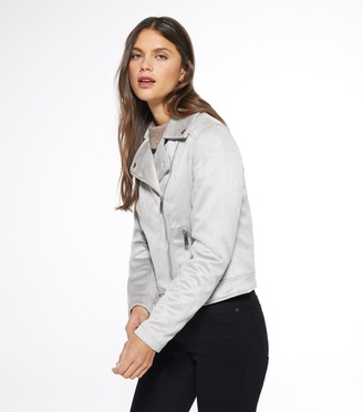 New Look Suedette Biker Jacket