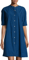 MiH Jeans Poets Button-Up Dress, Indigo