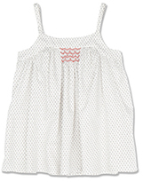 Marie Chantal Smocked Cami