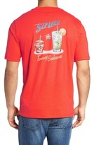 Tommy Bahama Men's Big & Tall Sip Line Graphic T-Shirt