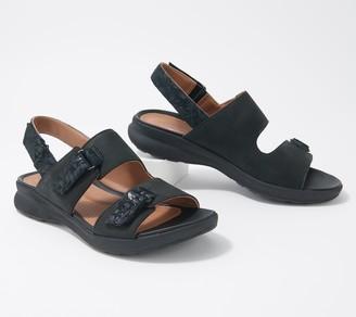 Clarks Leather Sandals - Un Adorn Sing
