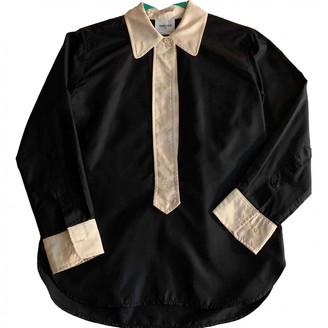 Laurence Dolige Black Silk Top for Women