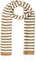 Tomas Maier Striped Fringe Scarf