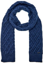 Michael Kors Cable Knit Scarf Midnight