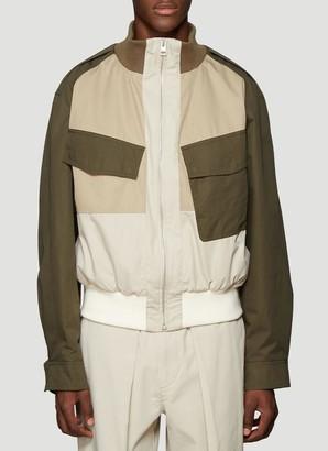 J.W.Anderson Colour Block Bomber Jacket