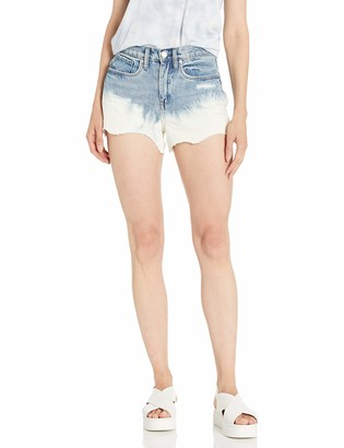 Blank NYC Women's The Barrow high-Rise Short Shorts