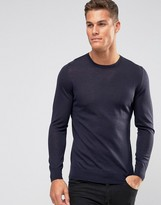 HUGO By Boss San Lorenzo Crew Jumper Merino