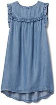 Gap TENCEL ruffle dress