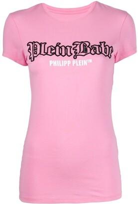 Philipp Plein Pink Paradise slim fit T-shirt