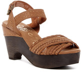 Naughty Monkey Calla Leather Platform Sandal