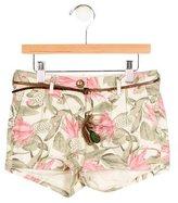 Scotch R'Belle Girls' Pineapple Print Mini Shorts