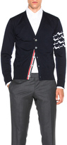 Thom Browne Hector Embroidery Cardigan