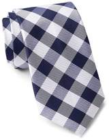 Tommy Hilfiger Silk Big Gingham Tie