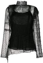 3.1 Phillip Lim lace embroidered top