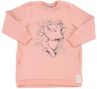 Wheat Aristocats Print Cotton Sweatshirt