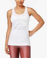 Under Armour UA Tech Wordmark Racerback Tank Top