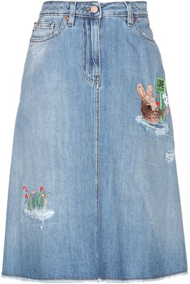 Love Moschino Denim skirts