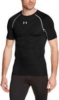 Under Armour 2015 Mens Heatgear Armourvent Compression Short Sleeve Shirt Small