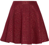Alice + Olivia Blaise Flared Bouclé Mini Skirt