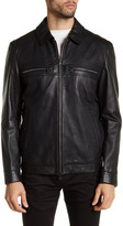 HUGO BOSS Garlon Genuine Lamb Leather Jacket