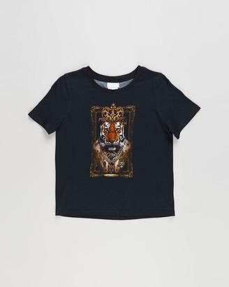 Camilla Boy's Black Printed T-Shirts - Short Sleeve T-Shirt - Kids-Teens - Size 6 YRS at The Iconic